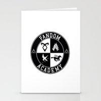 fandom Stationery Cards featuring Fandom Academy by Thg Fashion