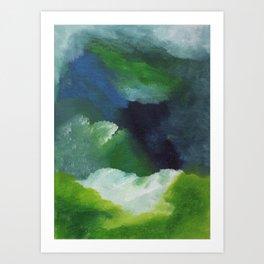 Seafoam Meadows Art Print