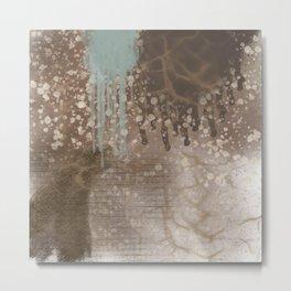 Splash of Textures Metal Print