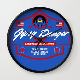 Gipsy Danger crew Wall Clock