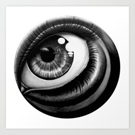 Sea eye Art Print