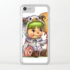 hi Clear iPhone Case