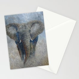 Elephant 2 Stationery Cards