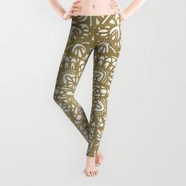 Modern Mandala Design Leggings