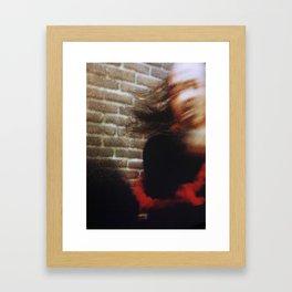 80s Act of Violence II Framed Art Print
