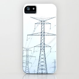 Electric | Nadia Bonello iPhone Case