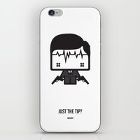 archer iPhone & iPod Skins featuring Archer by the curious brain