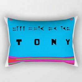 Tony in Cuneiform Script Rectangular Pillow