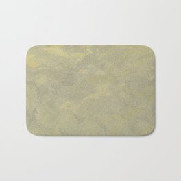 Champagne Skies Silver And Gold Metallic Plasters - Fancy Faux Finishes Bath Mat