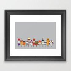 CELEBRATE INDIGENOUS Framed Art Print