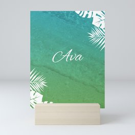 Tropical Ava Mini Art Print