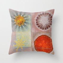 Flagonet Reality Flowers  ID:16165-093245-05721 Throw Pillow