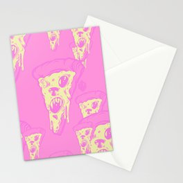 Zombie Pizza Stationery Cards