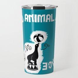 Say NO to Animal Performance – Seal Travel Mug
