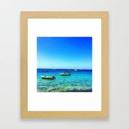 Vieques Floats Framed Art Print