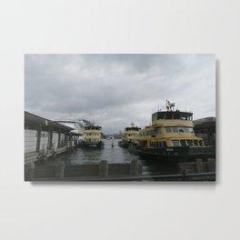 Circular Quay Metal Print