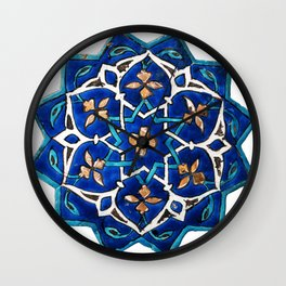 Oriental Design Wall Clock