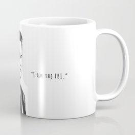 "Agent Cooper - ""I am the FBI"" Coffee Mug"
