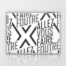 Allez Vous Faire Foutre Laptop & iPad Skin