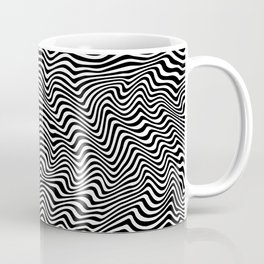 Op Art Stripes Coffee Mug