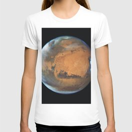 Mars planet T-shirt