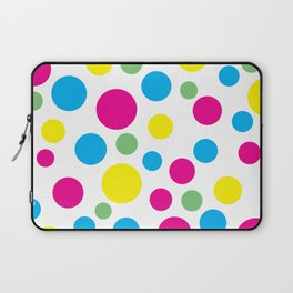 Colorful circles pattern Laptop Sleeve
