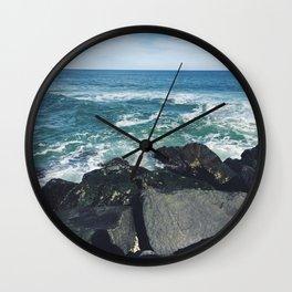 Jersey Shore Jetty Wall Clock