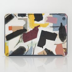 Large Collage With Paint 1 iPad Case