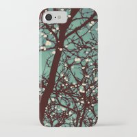 night iPhone & iPod Cases featuring Night Lights by elle moss