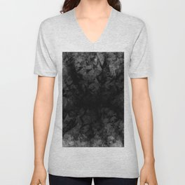 Abstract Radial Gradation Unisex V-Neck