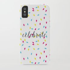 Celebration Lights iPhone X Slim Case