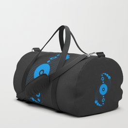 dna aliens, sacred geometry Duffle Bag