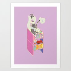 My Nightstand Art Print