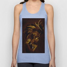 Afrofuturism fashion Unisex Tank Top