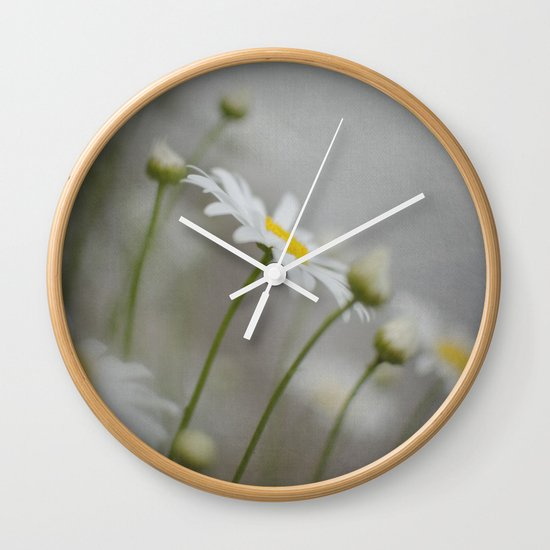 Daises  Wall Clock