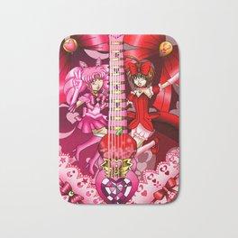 Sailor Mew Guitar #14 - Sailor Chibi Moon & Mew Ringo Bath Mat