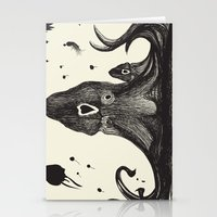 the neighbourhood Stationery Cards featuring Your neighbourhood squid by IOSQ