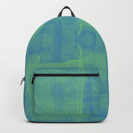 Blueish Green Paint Backpack