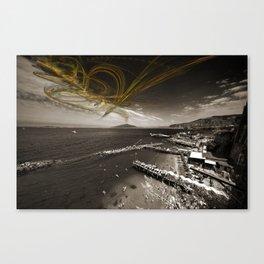Sorrento Erupts Canvas Print