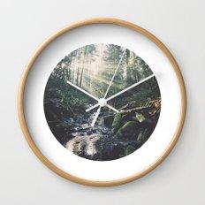 Sunbeam River Wall Clock