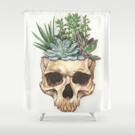 From Death Grows Life Shower Curtain