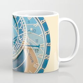 Closeup on Prague Astronomical Clock Coffee Mug