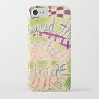 gravity falls iPhone & iPod Cases featuring Gravity Falls Quote by writingoverashes