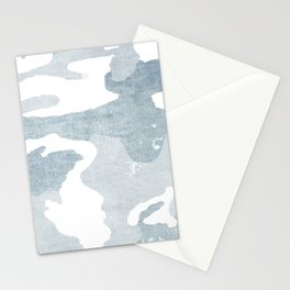 Chambray camo Stationery Cards