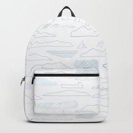 Island lines Backpack