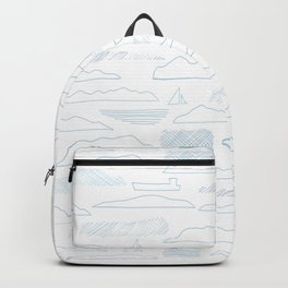 Island lines Backpack