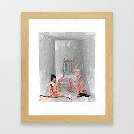 SIT SOUIVBO Framed Art Print