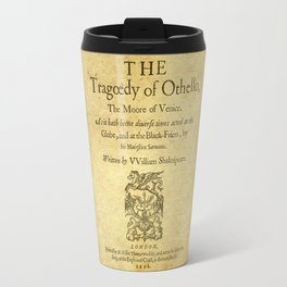 Shakespeare. Othello, 1622. Travel Mug