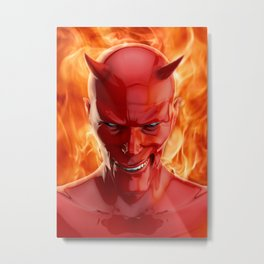 The devil Metal Print