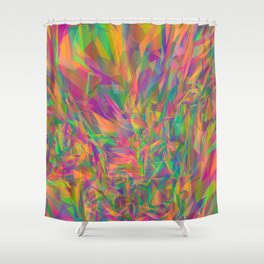 Prisms of Color Shower Curtain